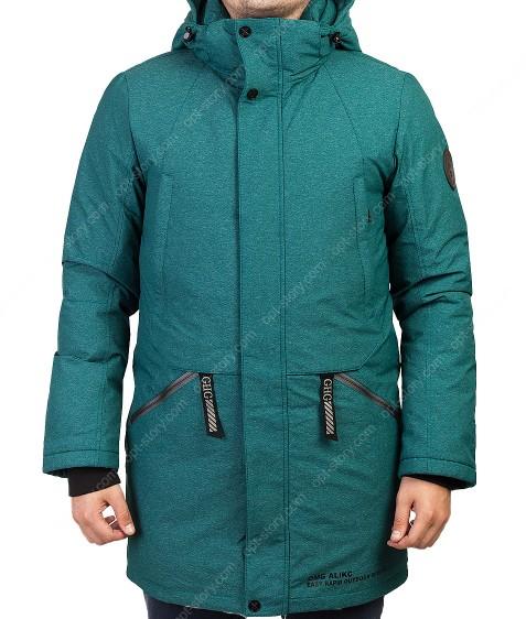 2061 зел. Куртка мужская 46-54 по 5