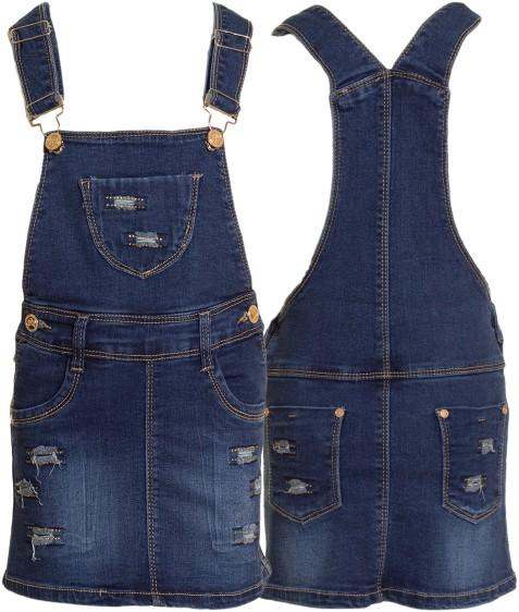 16310 Комбез джинс. девочка 15-20 по 6 (16.20)