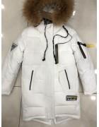381 белый Куртка девочка 134-158 по 5
