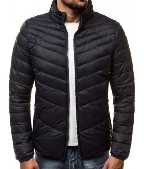 LY-11 чёрн Куртка мужская M-2XL по 4