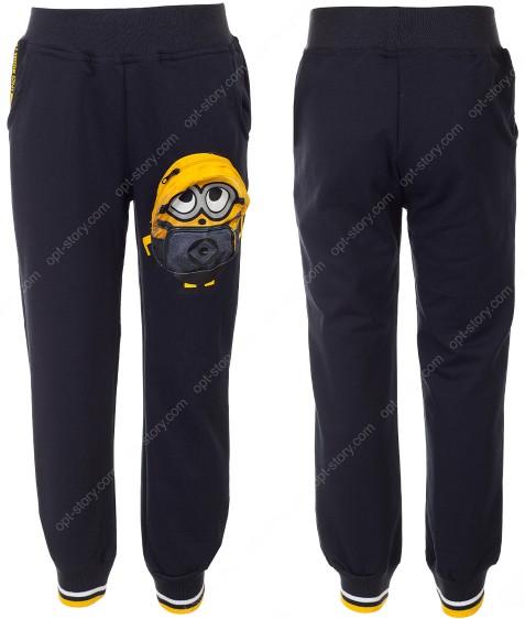 WX-2152 синий Спорт штаны маль 3-8 по 5