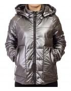 F689# сер Куртка женская S-2XL по 5