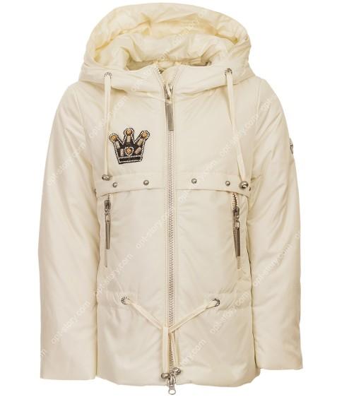 8935# бел Куртка девочка дем.LEBO 110-134 по 5