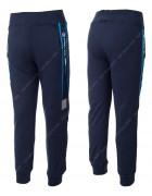 2548 синий Спорт. штаны мальчик 8-16 по 5