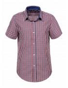 BCS-7921 Рубашка мальчик кор.рукав 110-160 48/12