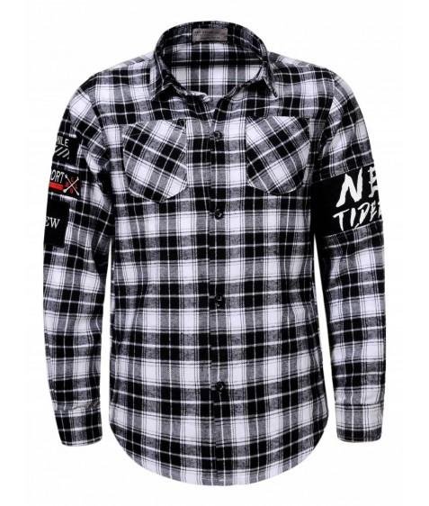 BCS-8295 Рубашка мальчик 110-160 48/12