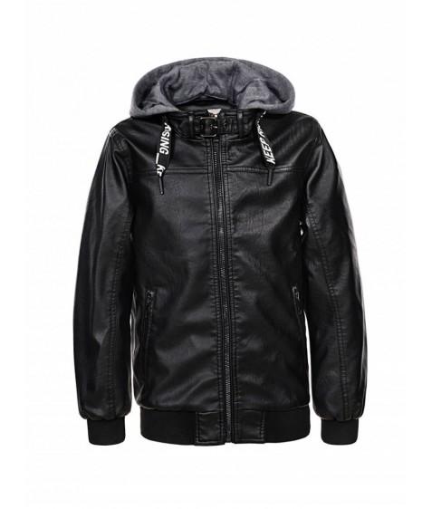 BPY-7833 Куртка мальчик эко-кожа 110-160 24/6