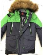 H807 сер/бут Куртка мальчик 116-140 по 5