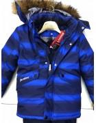 H811 электр. Куртка мальчик 110-134 по 5