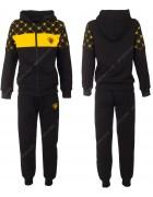 611 черный Спорт костюм маль 6-16 по 6
