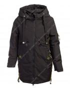 HL-203 чёрн. Куртка девочка 140-164 по 5