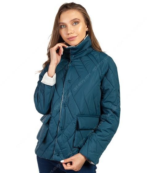 106 зел Куртка женская M-2XL по 4