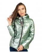 881# зел Куртка женская М-2XL по 4