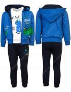 KK1069 синий Спортивный костюм мальчик 1-5 по 5