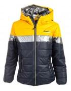 CD2010 желт. Куртка мальчик 4-12 по 5