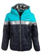 CD2010 зел. Куртка мальчик 4-12 по 5