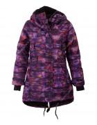 B4321 purple Куртка девочка 128-170 по 4