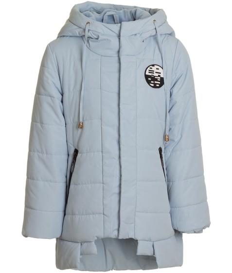 6672 голуб  Куртка девочка 104-128 (116, 122, 128)