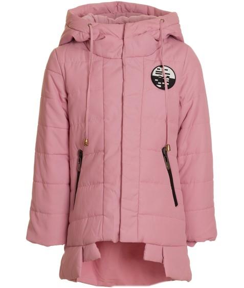 6672 розов  Куртка девочка  104-128 (116, 122)