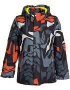 HL 1857 оранж Куртка мальчик  116-140 по 5 (140)