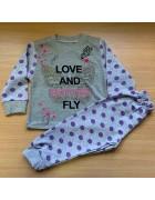 Пижама для девочки размер 2-6 лет по 5 штук арт.102