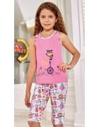 Пижама для девочки размер 5-6 по 3 шт. арт. 6557