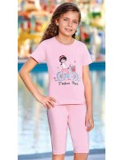 Пижама для девочки размер 5-6 по 3 шт. арт. 6572