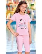 Пижама для девочки размер 7-8 по 3 шт. арт. 6572