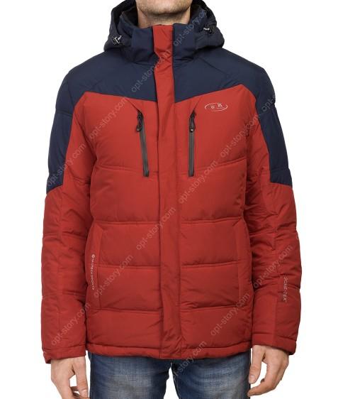 T-065 #3-2 красн/син Куртка мужская 48-56 по 5