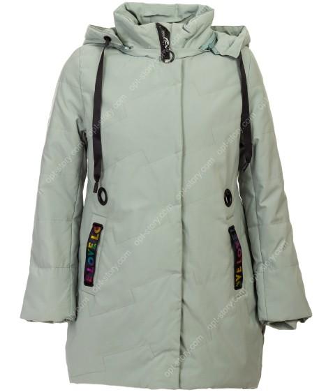 508 зел Куртка девочка 122-146 по 5