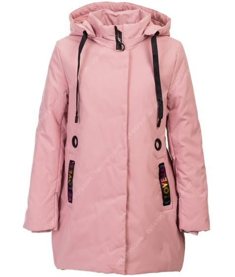 508 пудра Куртка девочка 122-146 по 5
