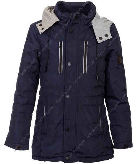 1707 т.син Куртка мальчик 140-164 по 5