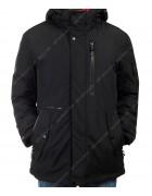 2025 черн. Куртка мужская 46-56 по 6