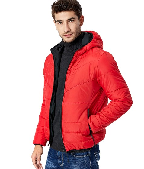 MMA-9312 красн. Куртка мужская 2-х M-2XL по 4