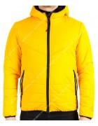 MMA-9312 желт. Куртка мужская 2-х M-2XL по 4