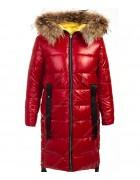 145 красн. Куртка девочка  134-158 по 5 шт.