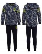 5328 голуб  Спорт костюм мальчик 4-12  по 5