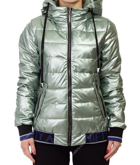 868# зел Куртка женская M-2XL по 4