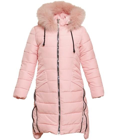 DX- 8080# пудра Куртка девочка 140-164 по 5