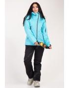 B2354 голуб. Куртка женская S-XL по 4