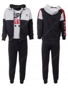 52487 серый Спортивный костюм мальчик 4-12 по 5