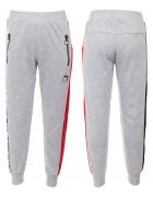 52508 серый Спортивные штаны мальчик 140-170 по 6