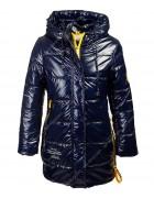 HL-201 син. Куртка девочка 140-164 по 5
