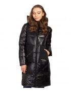 47385 черный Куртка женская S-3XL по 6