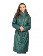 47408 т. зеленый Куртка женcкая L-5XL по 6