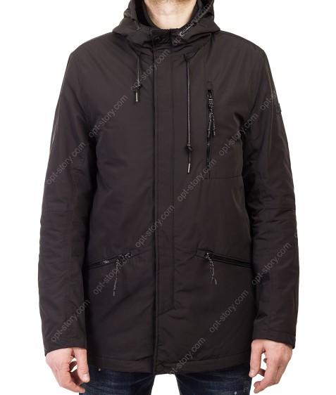 T-271 чёрн Куртка мужская 48-56 по 5