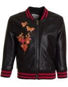3791 (бабочка) черн.Куртка дев.3-12 по 6