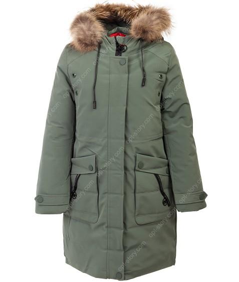 YS-1941 зеленый Куртка девочка 140-164 по 5