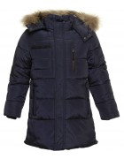 501 Lebo синий Куртка мальчик 134-158