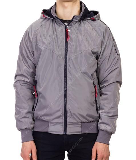 5771 сер Куртка мужская M-2XL по 4